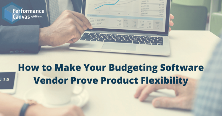 Budgeting Software Vendor