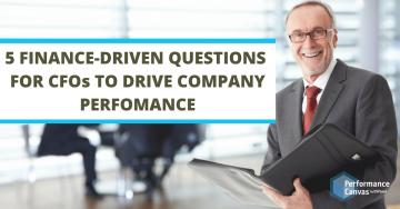 finance-driven questions for cfos