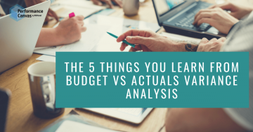 budget vs actuals variance analysis