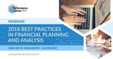best practices in financial planning and analysis
