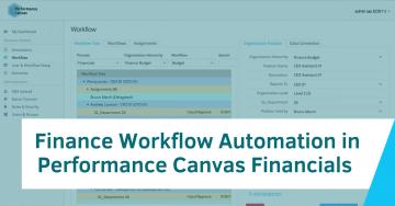 Finance Workflow Automation