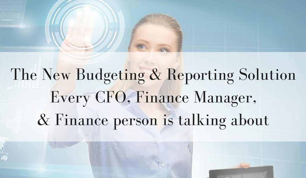 budgeting & reporting solution