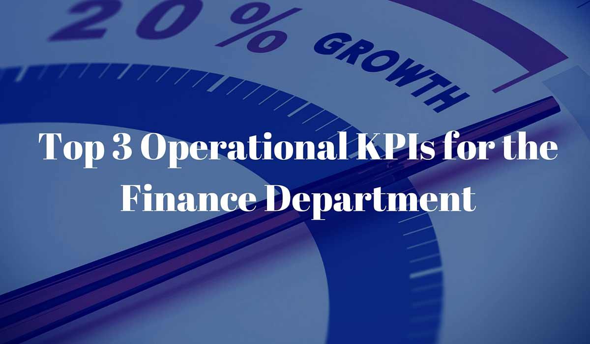 finance operational kpis