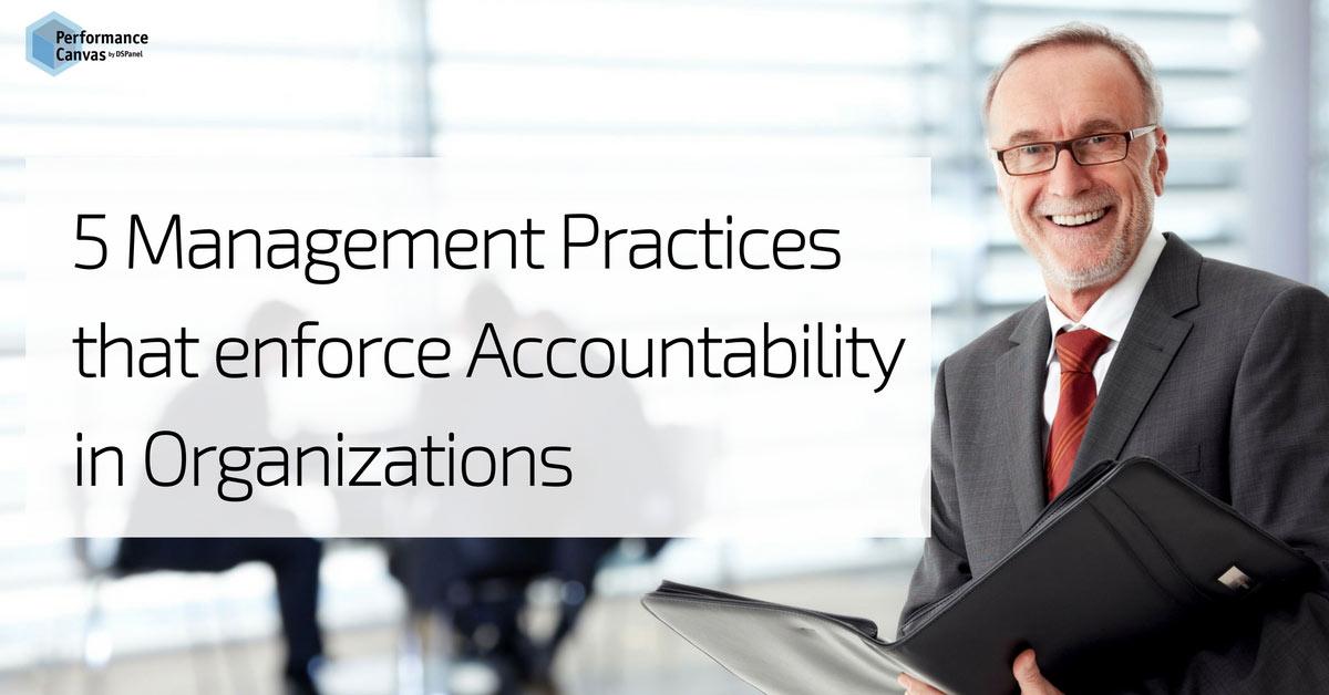 5 management practices