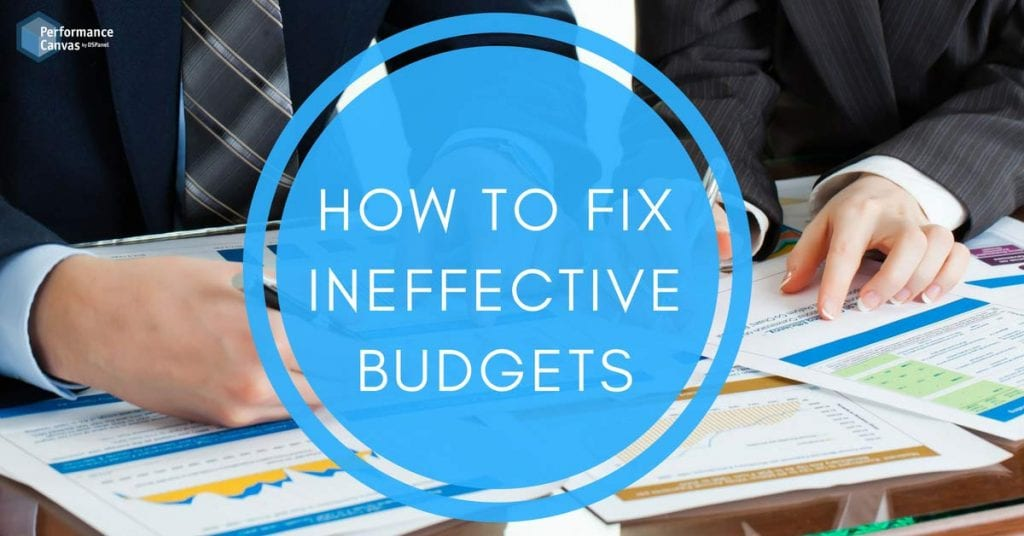 ineffective budgets