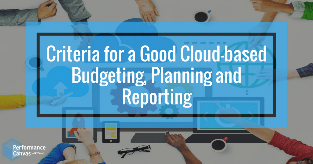Cloud-based Budgeting