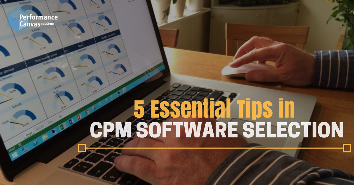 CPM Software Selection