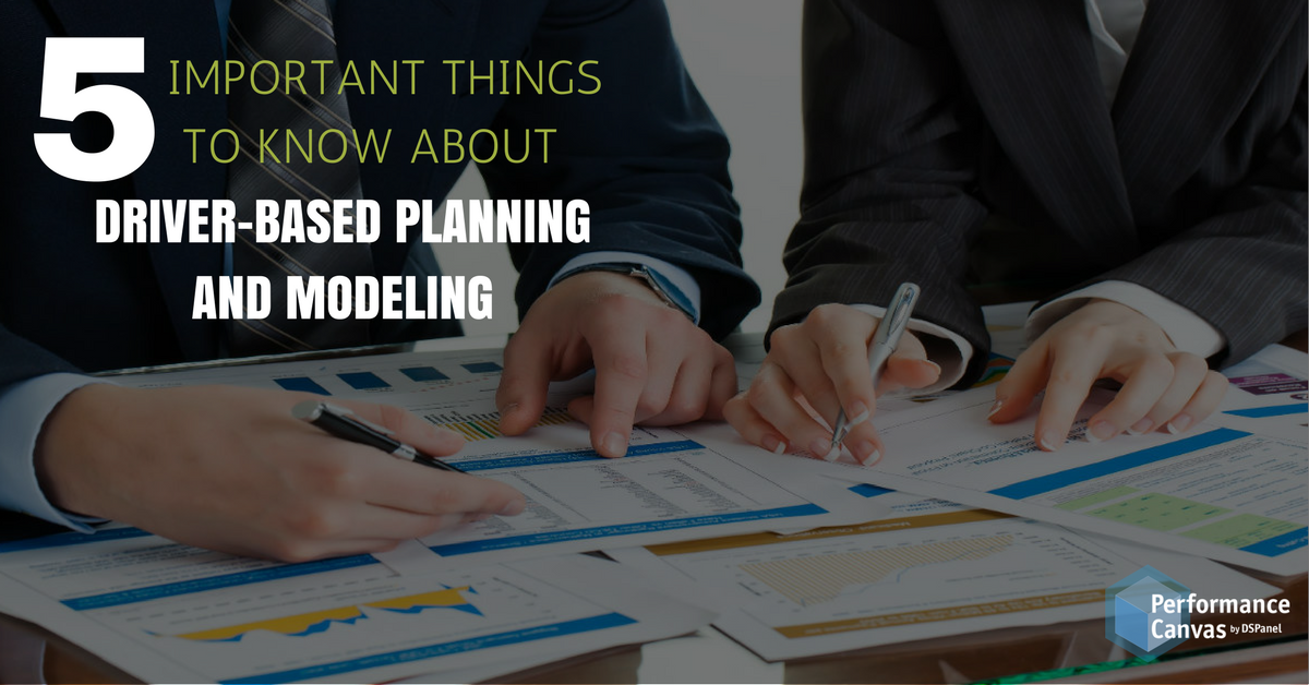 Driver-based Planning and Modeling