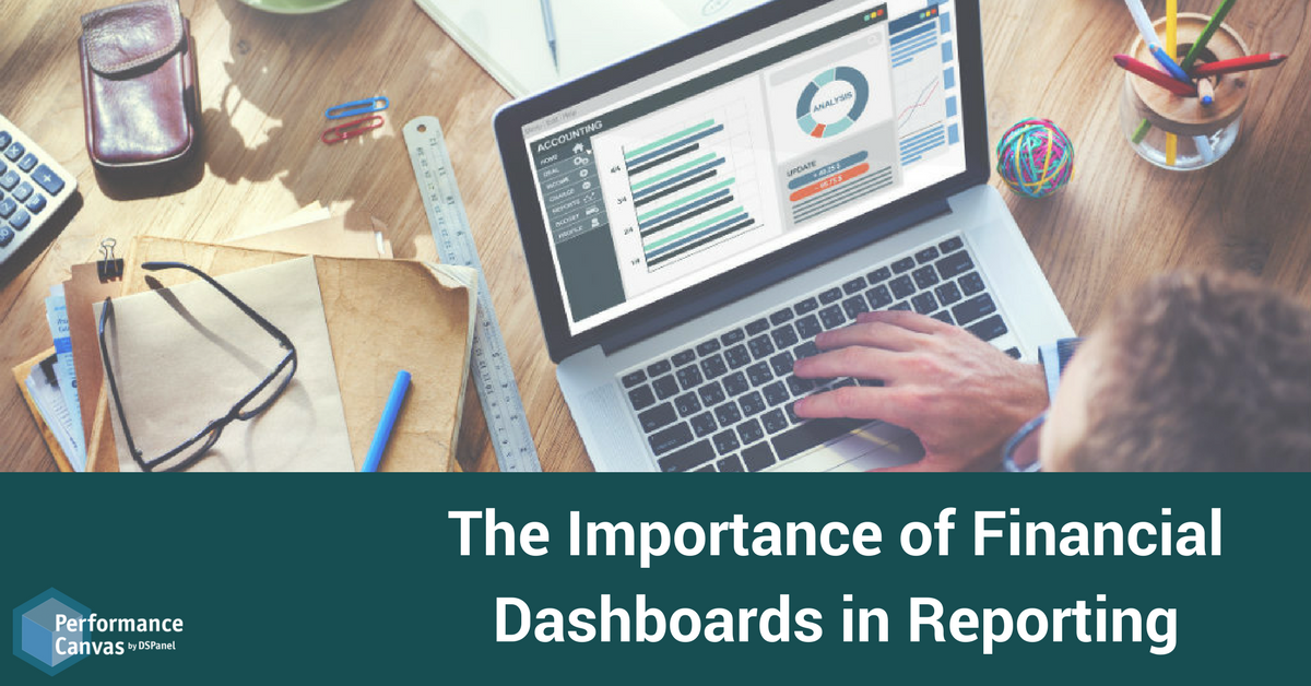 Financial Dashboards - benefits of dashboard reporting