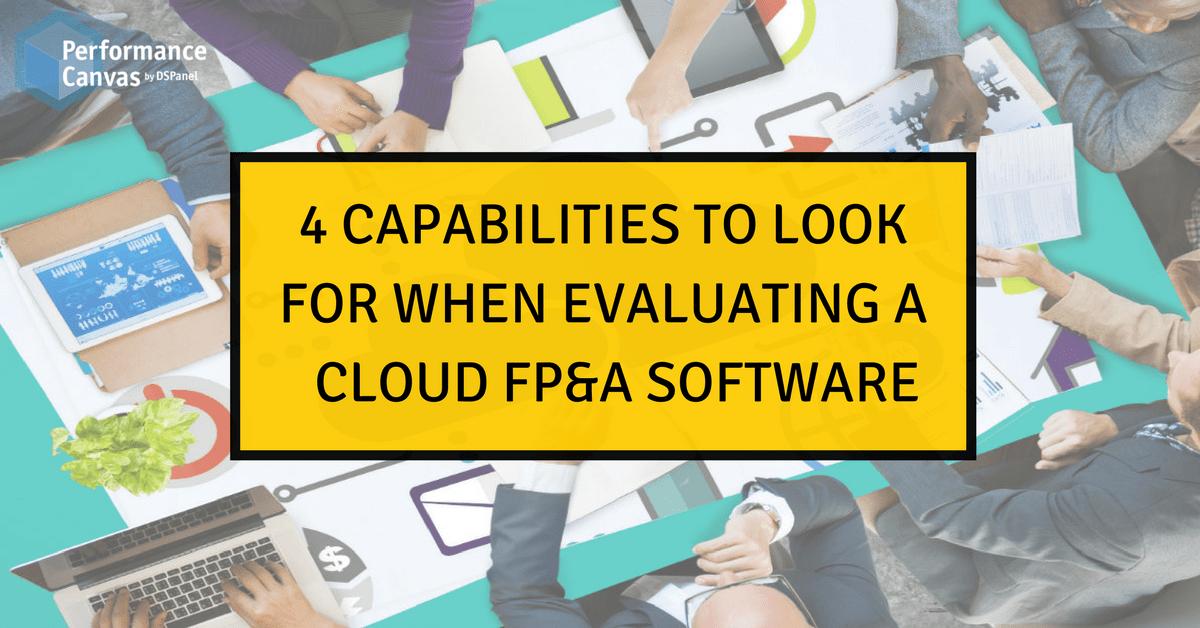 Cloud FP&A Software