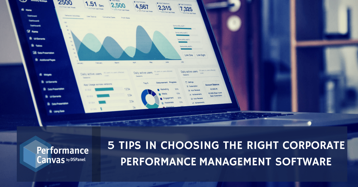 Corporate Performance Management Software
