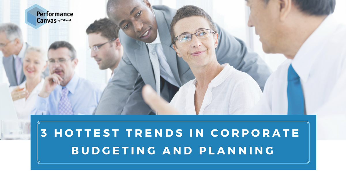 Corporate Budgeting and Planning Trends