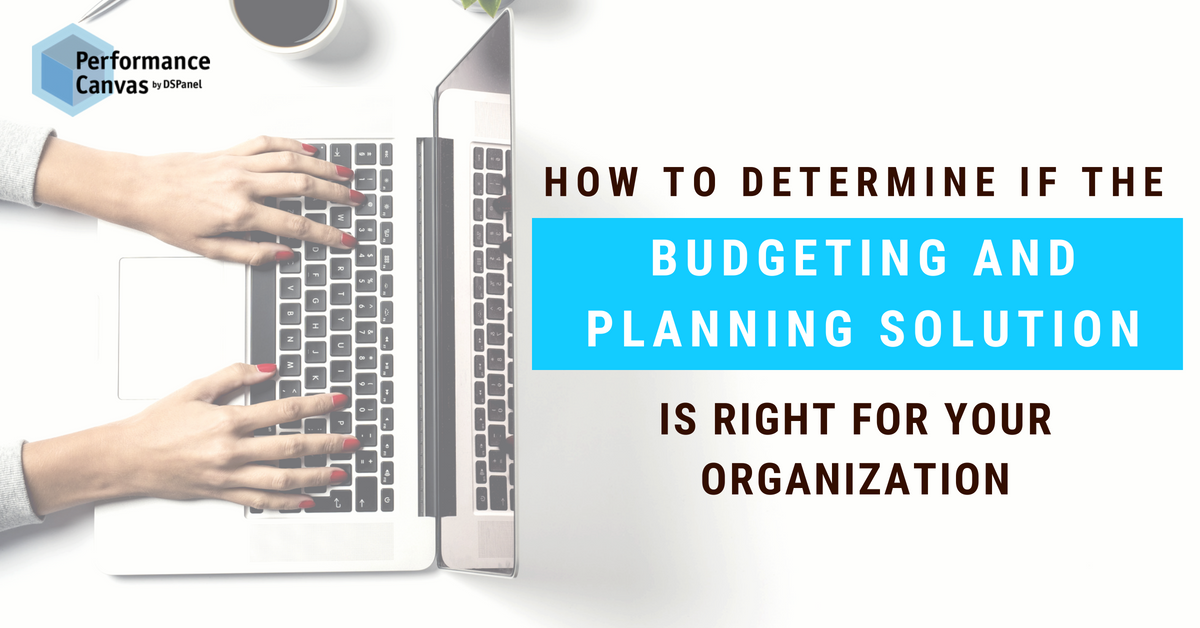 Budgeting and Planning Solution