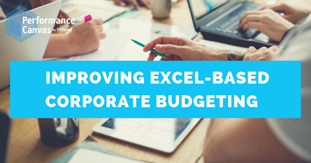 excel-based corporate budgeting