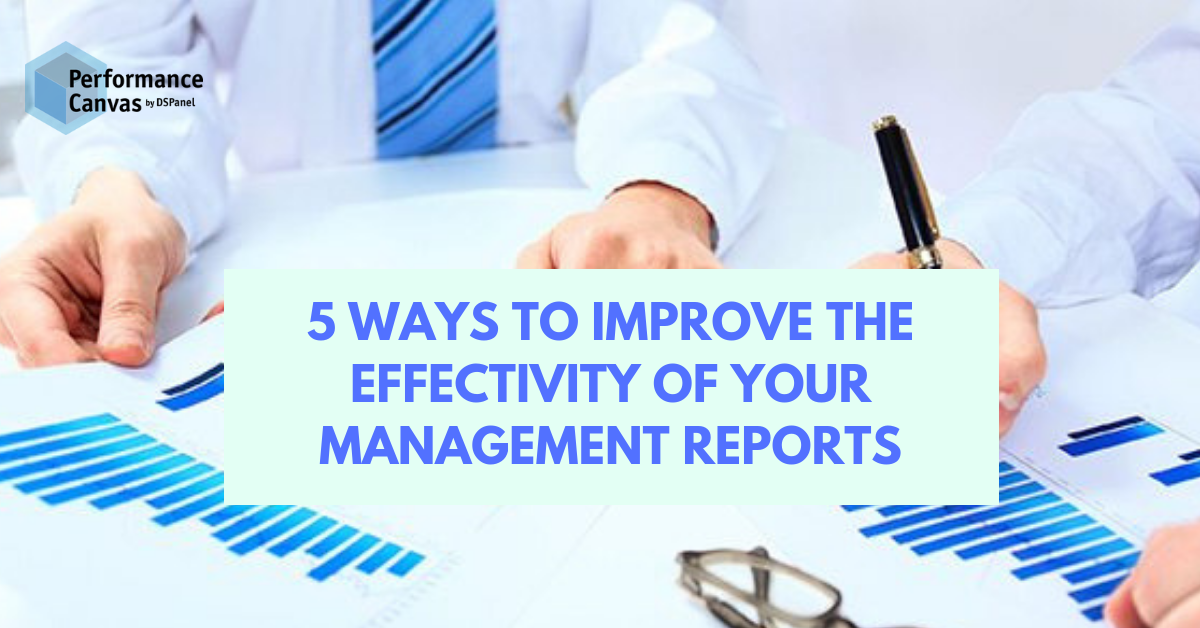 management reports effectivity