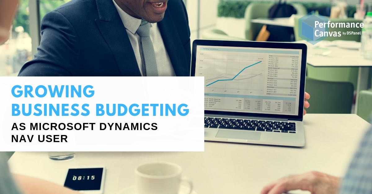business budgeting microsoft dynamics nav user