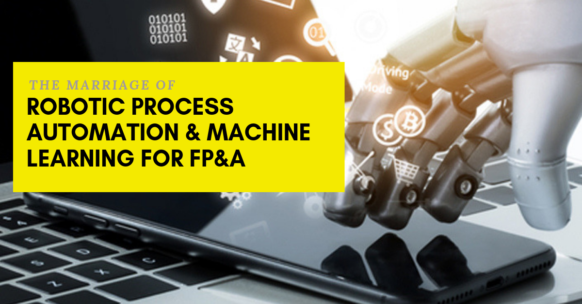 robotic process automation and machine learning