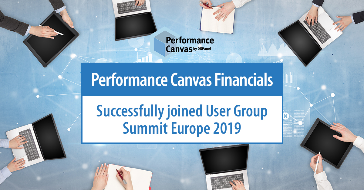 performance canvas joined user group summit europe 2019
