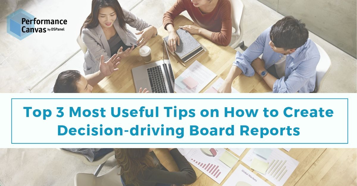 decision-driving board reports