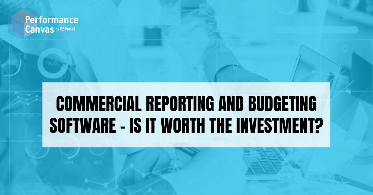 commercial reporting and budgeting software