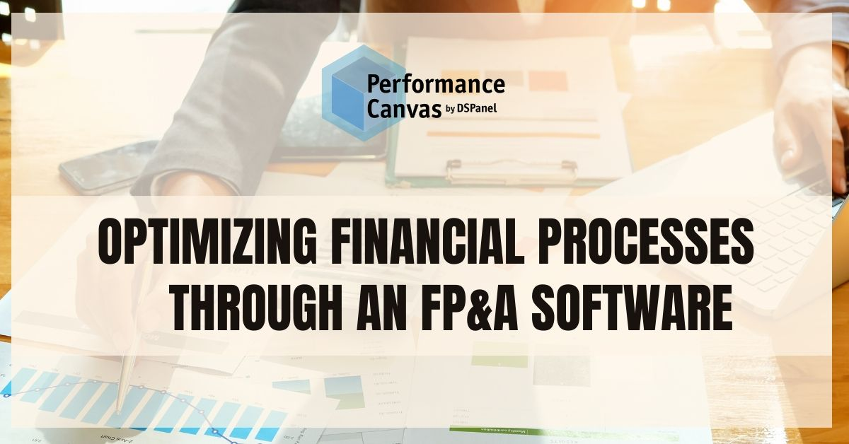 financial processes through FP&A software