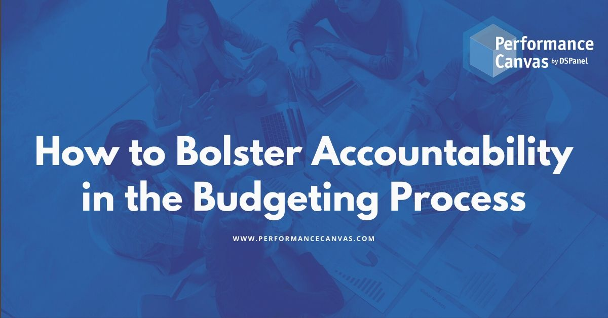 accountability in the budgeting process