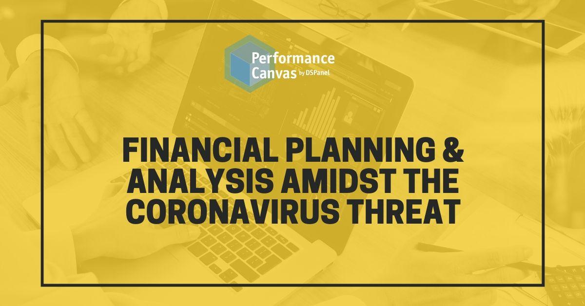 financial planning and analysis amidst coronavirus