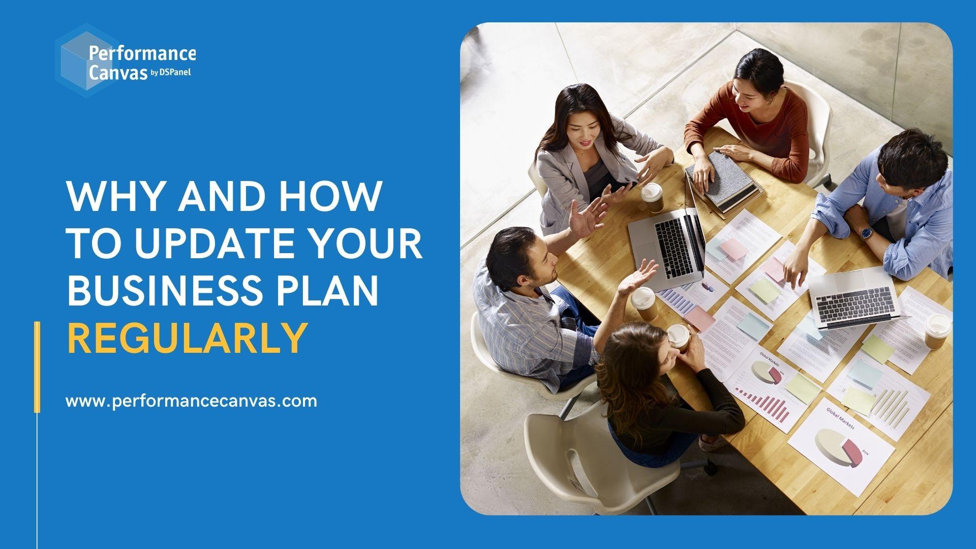 update business plan