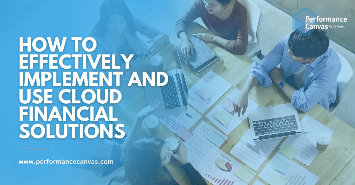 cloud financial solutions