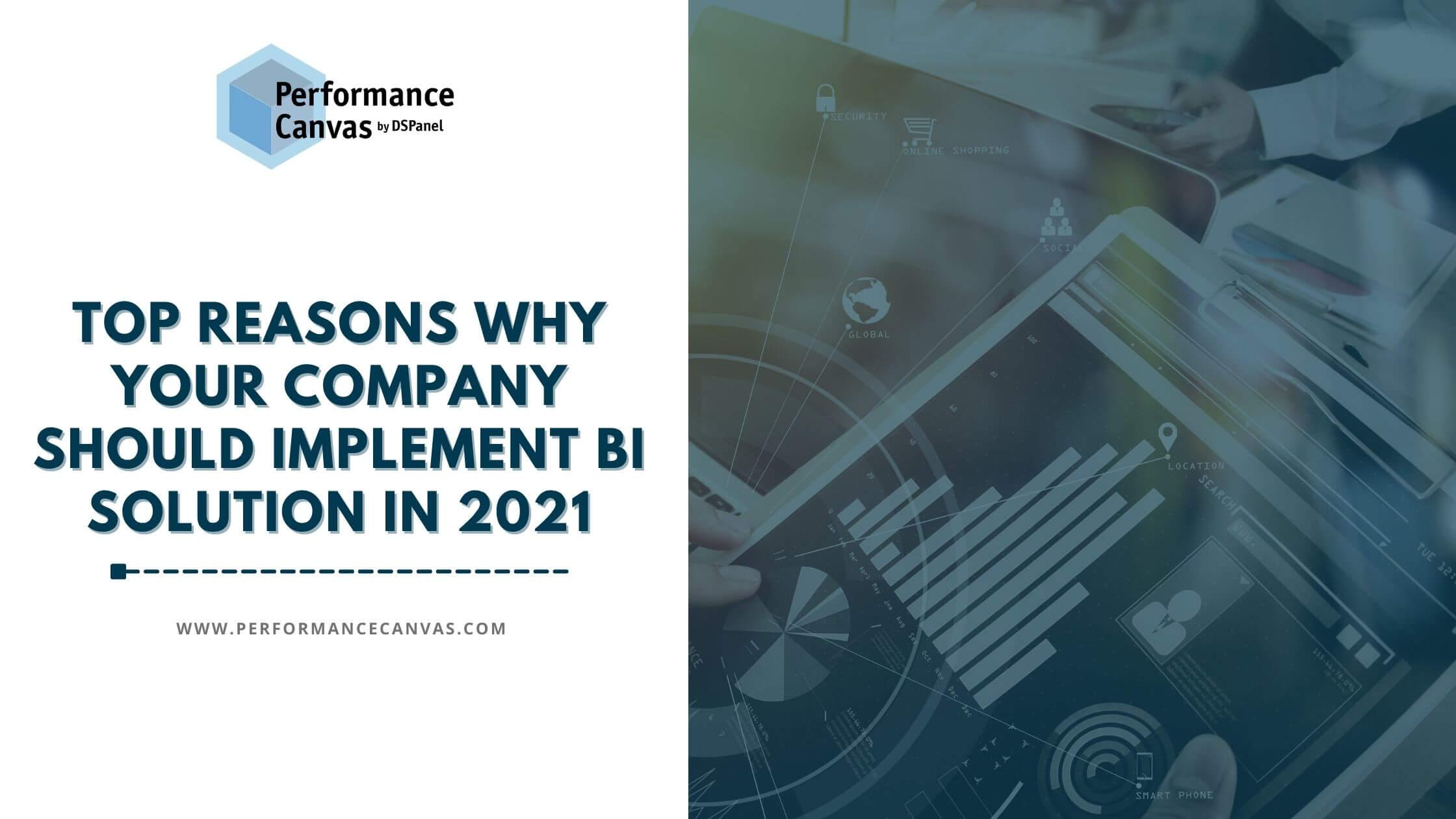 bi solution in 2021