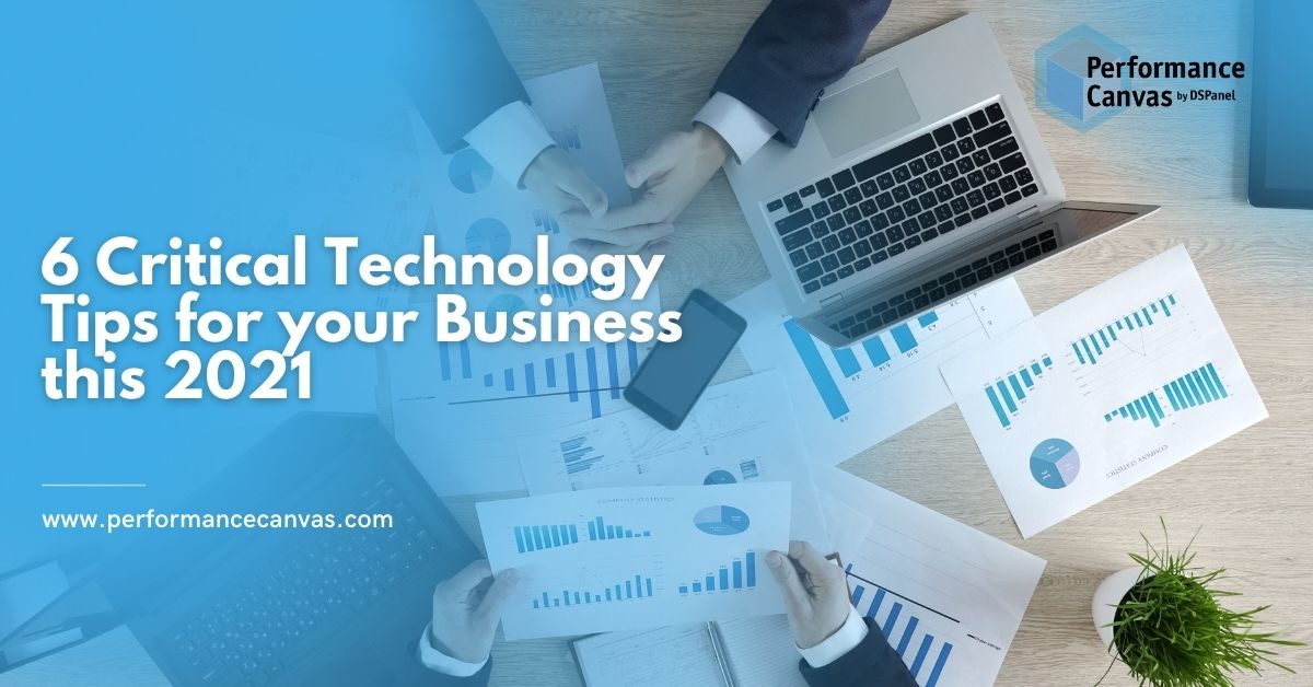 technology tips for business 2021