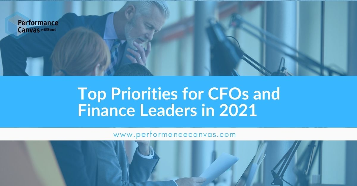 Top Priorities for CFOs and Finance Leaders in 2021