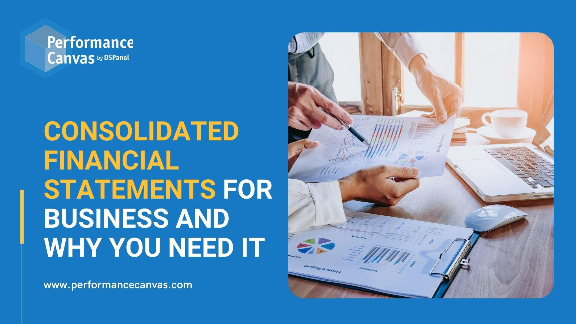 consolidated financial statements (1)