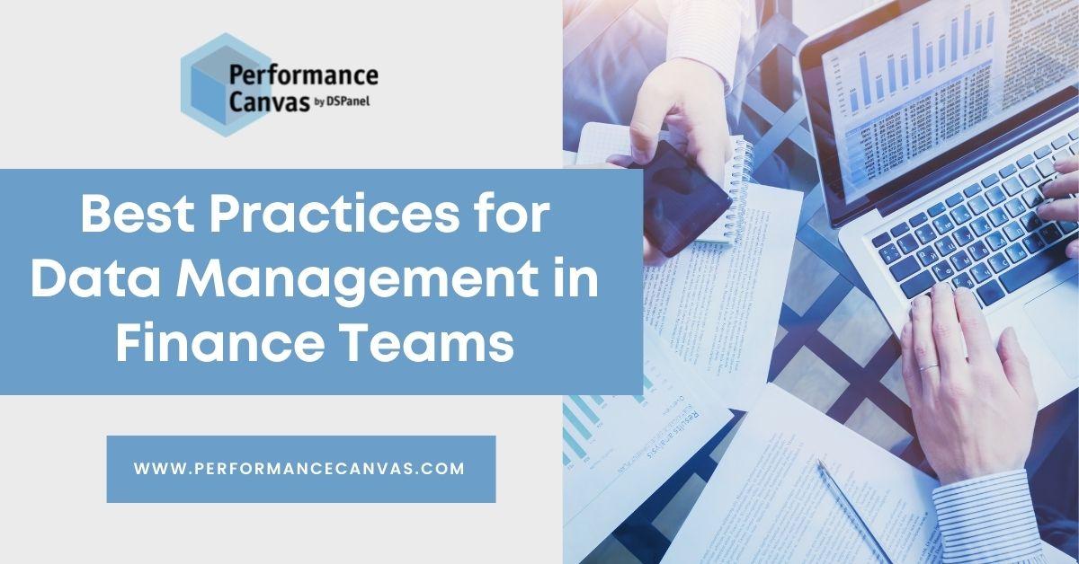 data management in finance